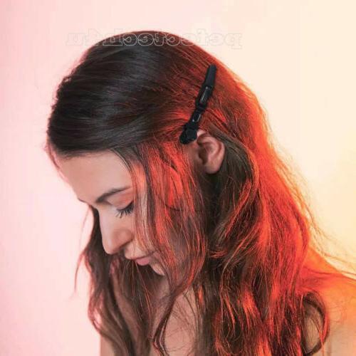 10PCS Salon Hairdressing Crocodile Clips Hair Claw Clamps
