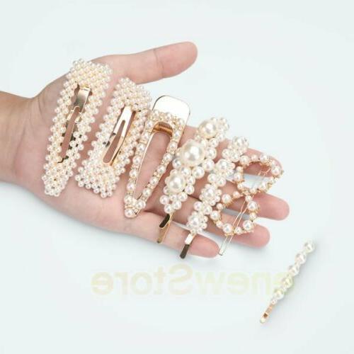 10x Girls Hair Clip Hairpin Grips Barrette Hair Accessories