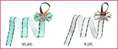12 Hair Clip Ribbon L.O.L