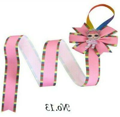 Hair Clip Ribbon Bow L.O.L