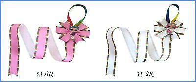 12 30 Inch Ribbon Bow Storage Organizer L.O.L