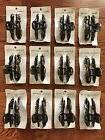 12 PACK  WOMEN LADY GIRL PLASTIC HAIR CLIPS CLAWS CLAMPS 3-1
