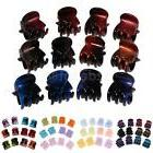 12 Pieces Assorted Color Small Mini Clips Claws Clamps Weddi