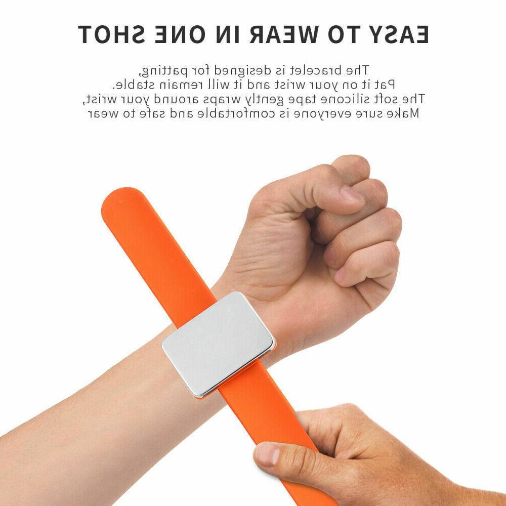 12 Salon Magnetic Bracelet Wrist Clip Hairdressing Tool