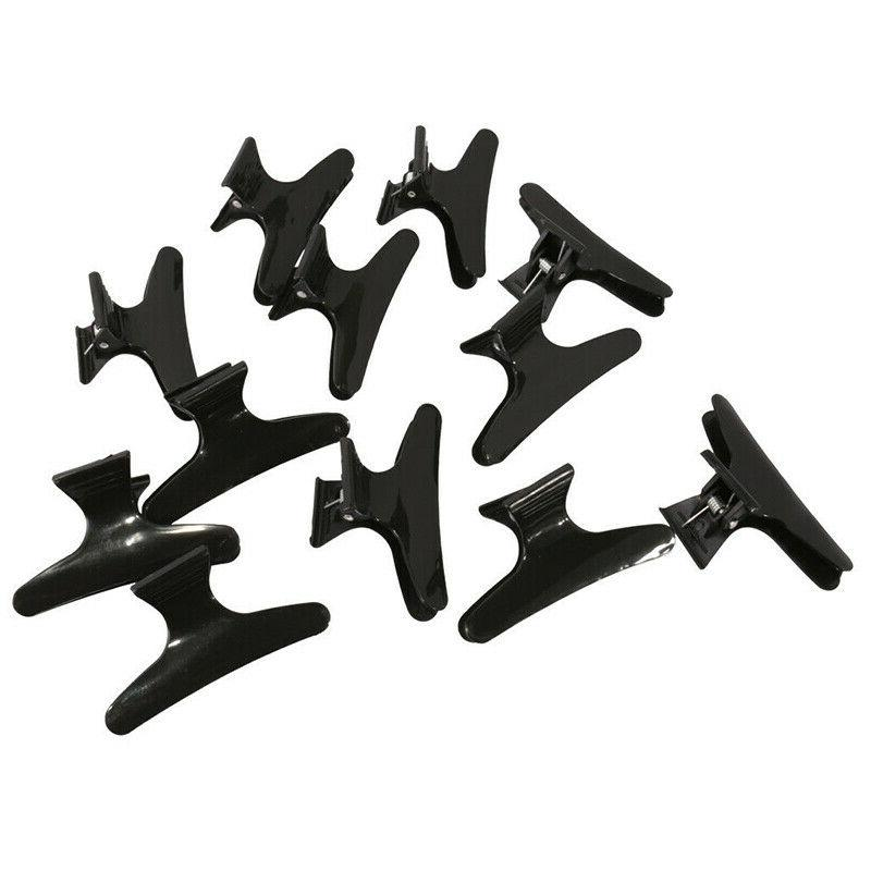 12pcs hairdressing tool butterfly hair claw salon