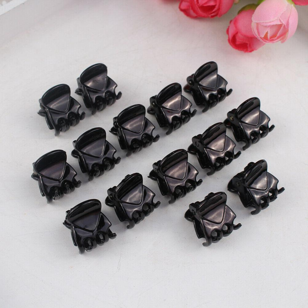 12Pcs/sets Girls Clamp Black Hair Hair Lot