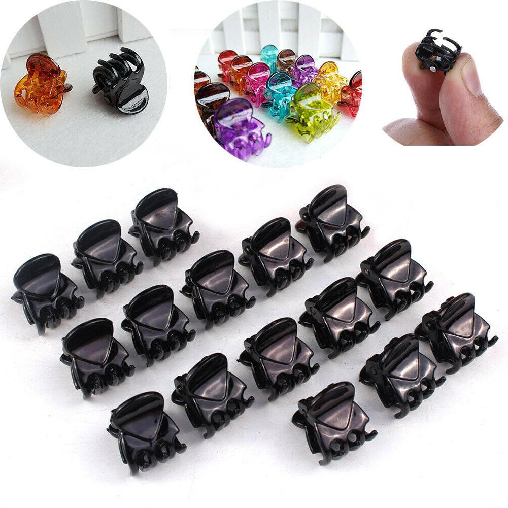 12pcs sets girls womens mini clamp small