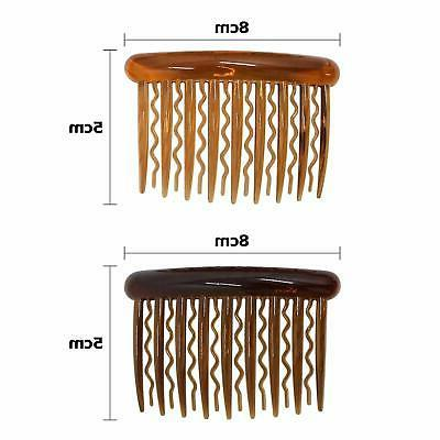 16 Pieces Plastic Teeth Hair Combs Pin Combs for