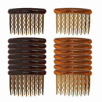16 pieces plastic teeth hair combs pin