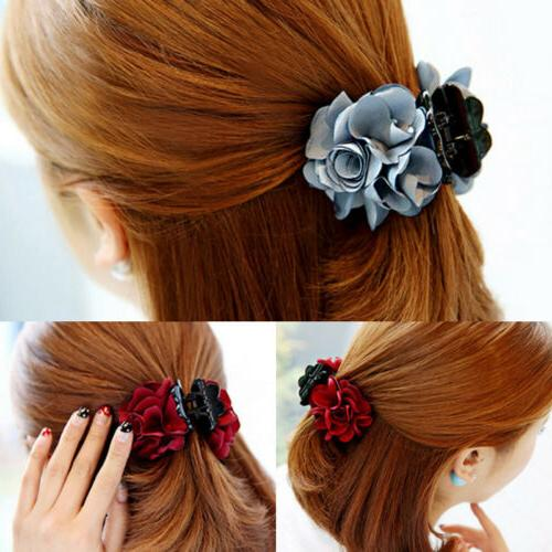 1PC Rose Hair Jaw Accessories