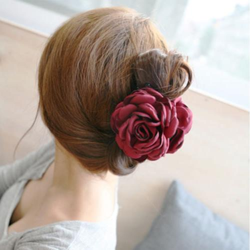 1PC Rose Hair Claw Jaw Accessories
