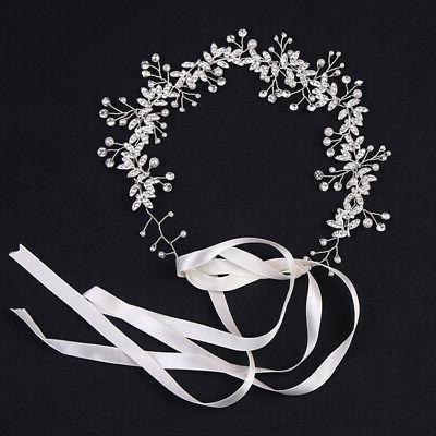 Rhinestone Headband Tiara Bridal