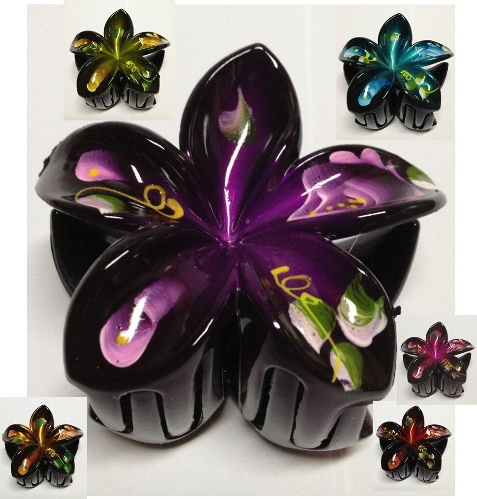 1pcs hair flower clips 2 5 inch