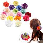 1pcs New Hair Clip Wedding Party Rose Flower Bridal Bridesma