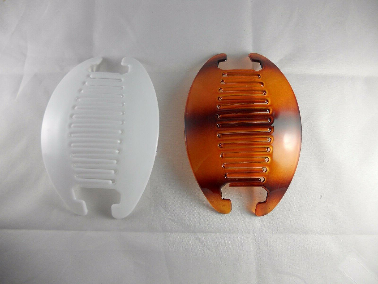 2 Comb Clip Thick Hair Riser Claw Jaw Extra