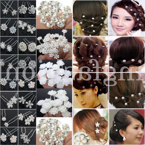 Bridal Pearl Flower Hair Bobby
