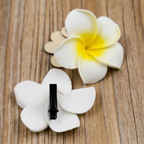 20Pc Women Flower Hair Hawaiian