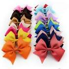 20Pcs Hair Bows Clips Hair Accessories For Girl Baby Kids Te