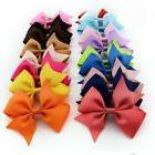 20pcs Handmade Bow Hair Clip Alligator Clips Girls Ribbon Ki