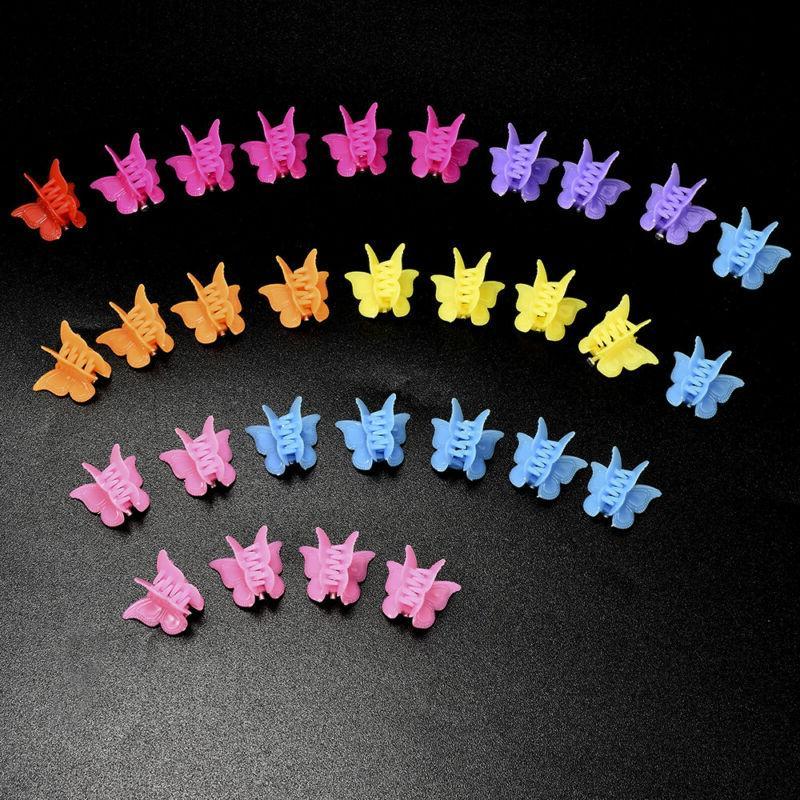 20PCS Butterfly Hair Clips Mini Hairpin for Kids Women Girls