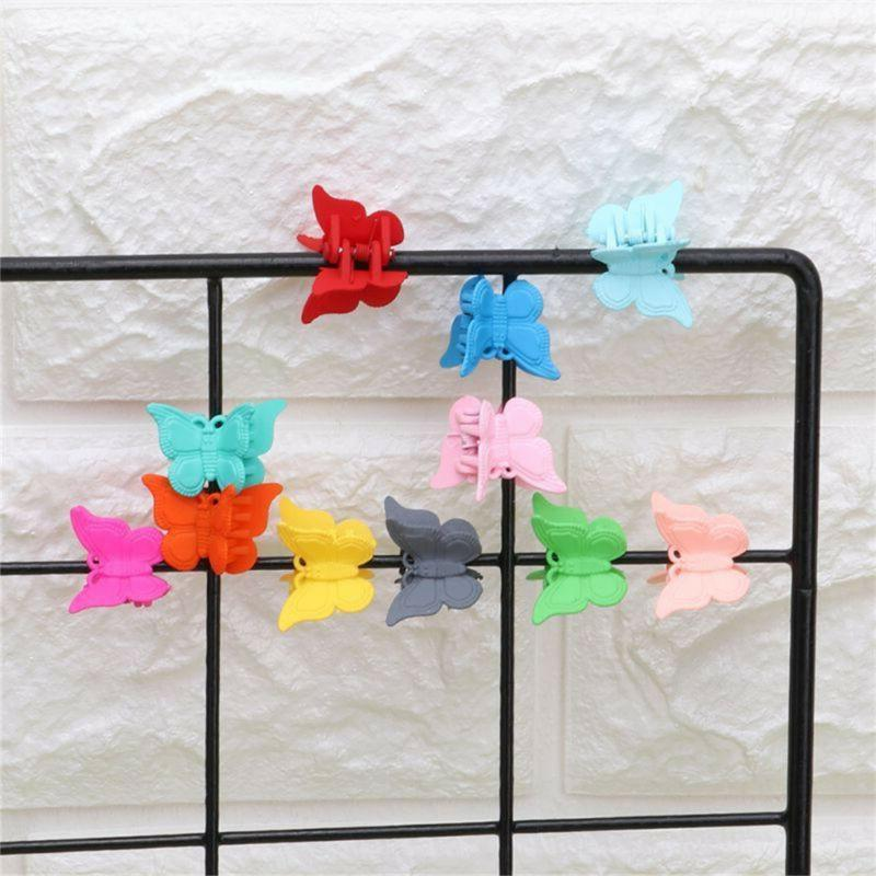 20Pcs Colors Small Butterfly Shap