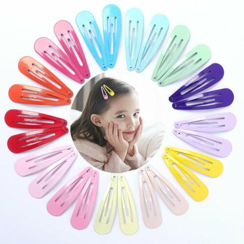 20Pcs Snap Clips for Hair Clip BB Hairpin Best