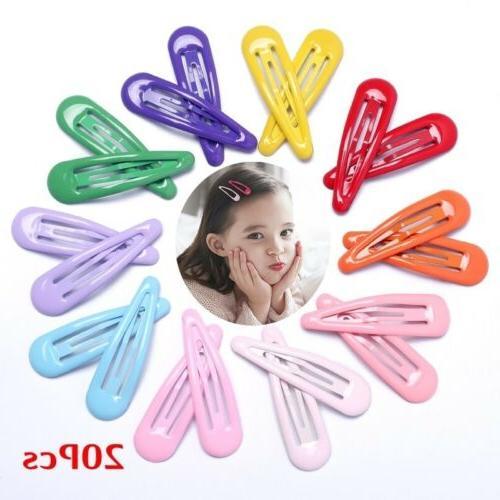 20pcs snap hair clips for hair clip