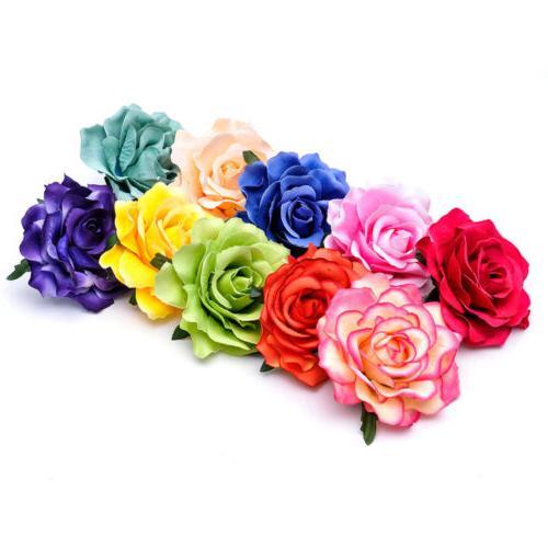 2pcs rose flower hair clip flamenco dancer