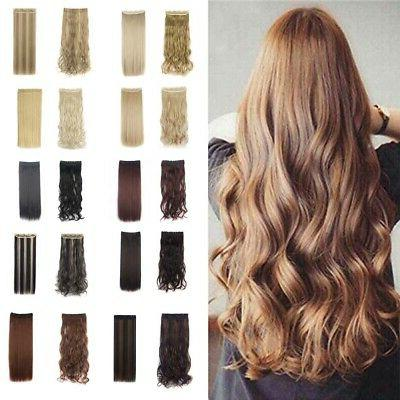 3 4 full clip in hair extensions