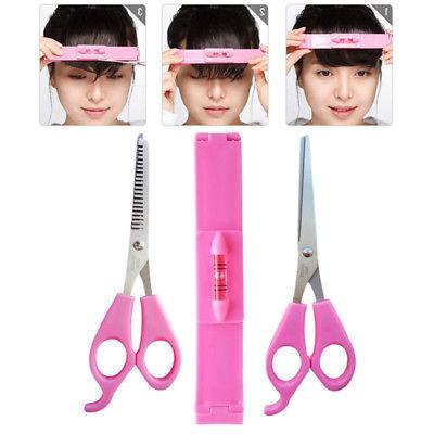 3 pcs hair cutting kit clip trim