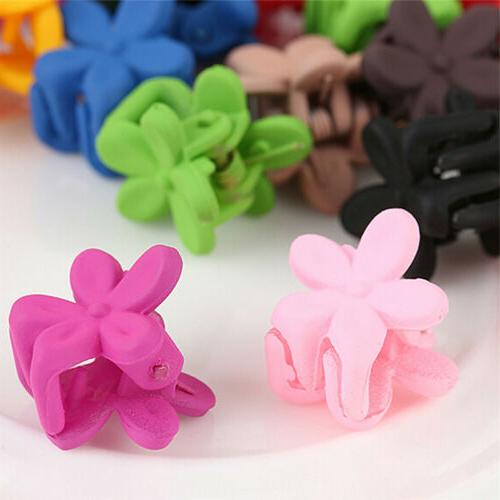 30*Mix Colored Baby Hairs Claw Jaw Clip Accessories