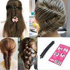 LKE 3pcs/lot Women Fashion Hair Styling Clip Hair Braider Tw