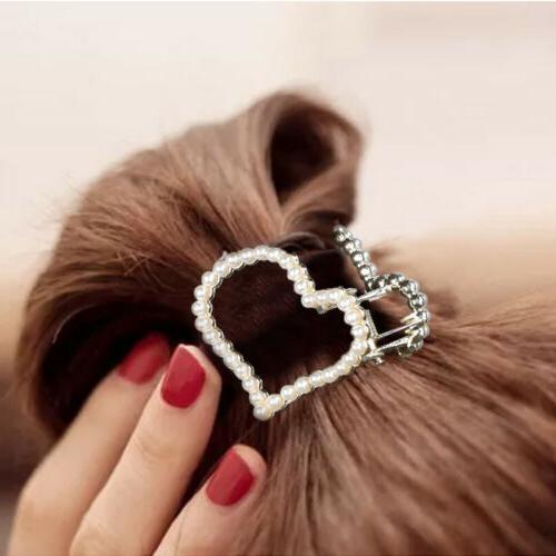 Women Girls Retro Gold Clip Barrette Claw Hair Pins