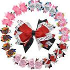 "4.5"" Girls Toddlers Kids Multi-layer Stacked Hair Bows with"