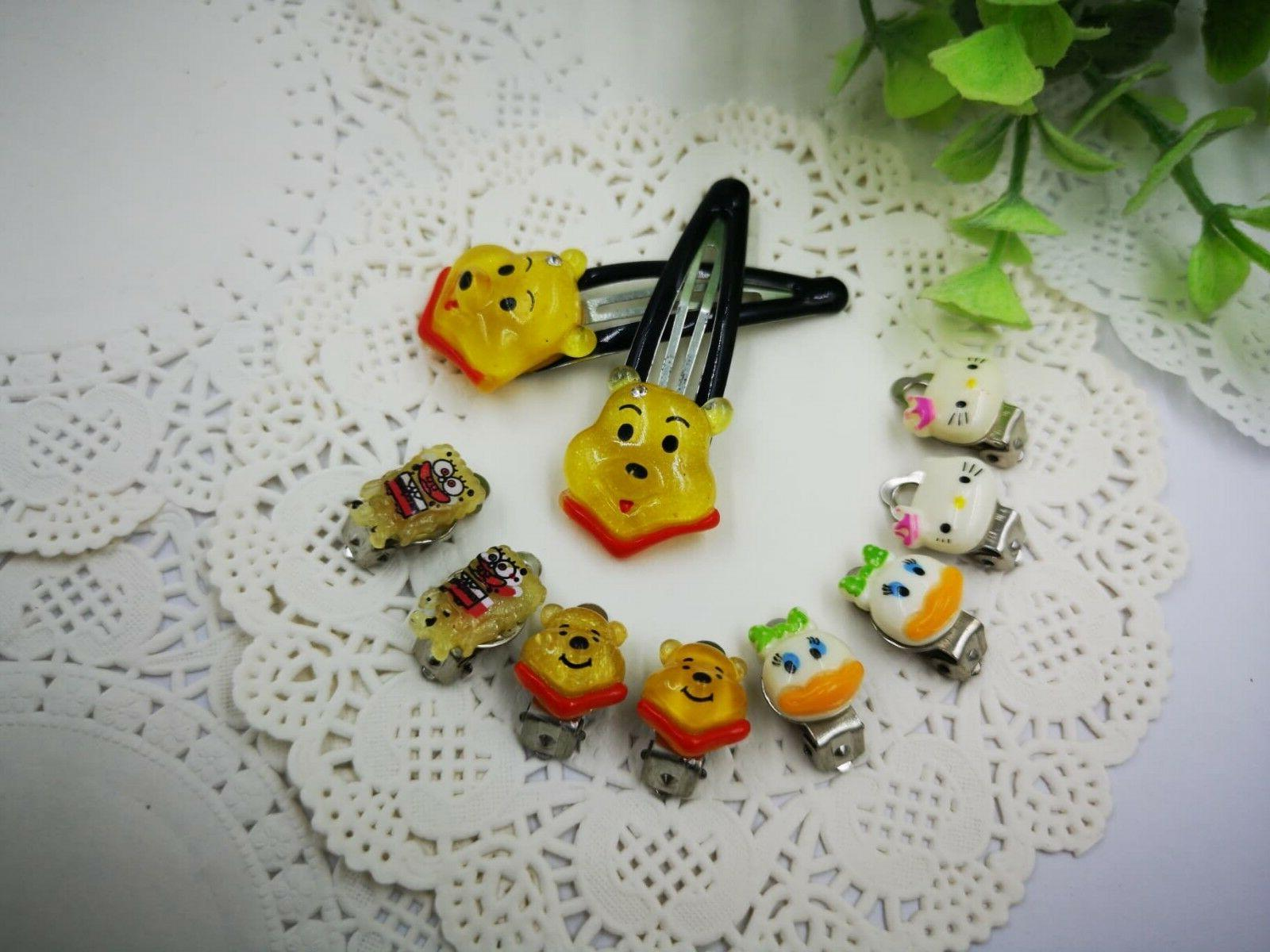4 Clip Earring and for Jewelry
