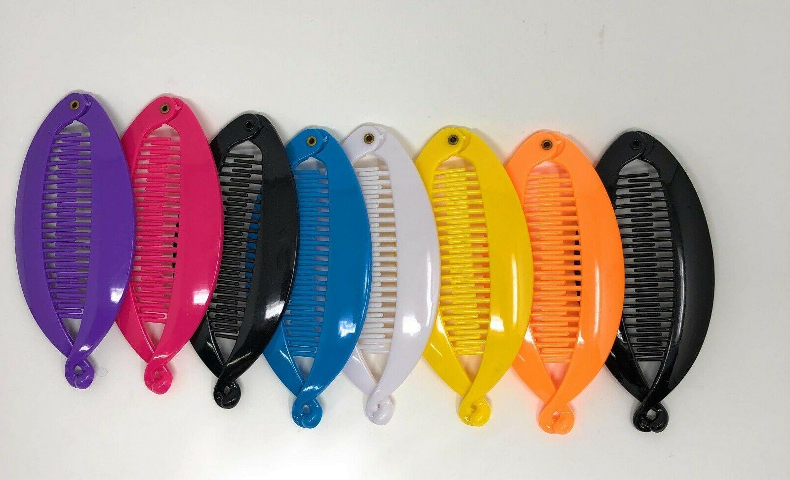 4 pcs comb banana clip hair riser