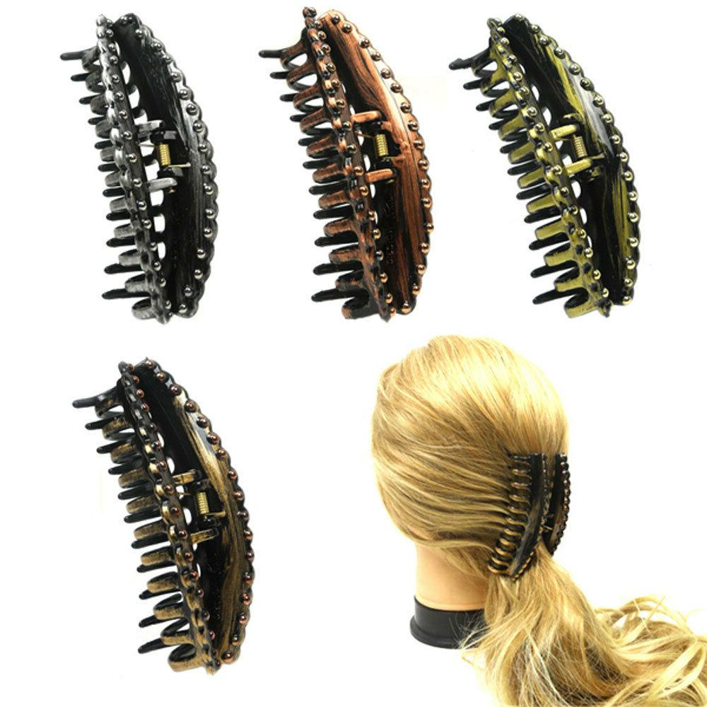 4 pieces women girls claw clip color