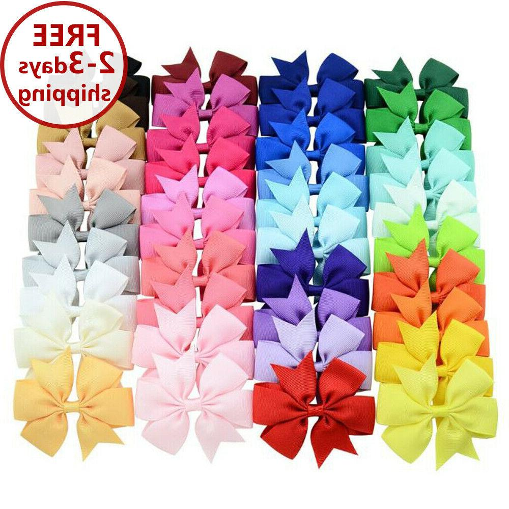 40 pcs lots boutique baby girls hair