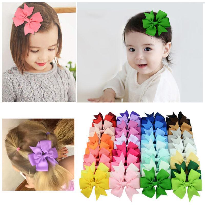 40pcs Pairs Girls Kids Hair Hair