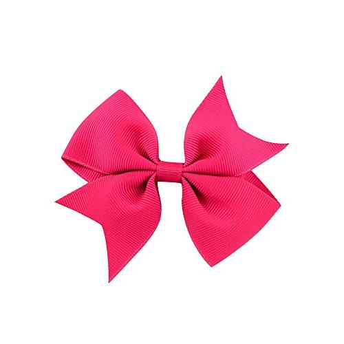 """40pcs Baby Girls 2"""" Grosgrain Boutique Color Hair Bows Clips Girls Toddlers 20"""