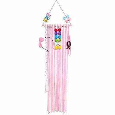 45 8in hair bow holder organizer hanger