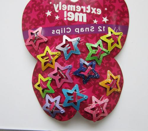 48 Pcs Star Hair Clips Girls Baby Head Accessories Girl