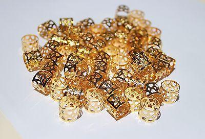 Cuff Filigree Gold Color 12MM