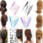 4pcs Set Plastic Magic Topsy Tail Hair Braid Ponytail Stylin