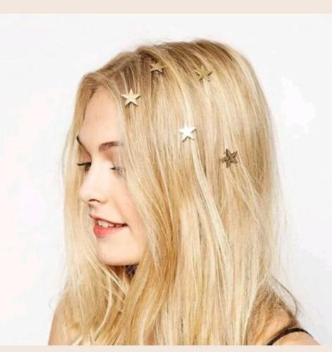 5 Star Swirl Hair Hairpin Barrettes girls women