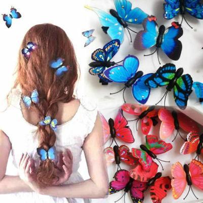 5pcs butterfly flower hair claw clamp hair