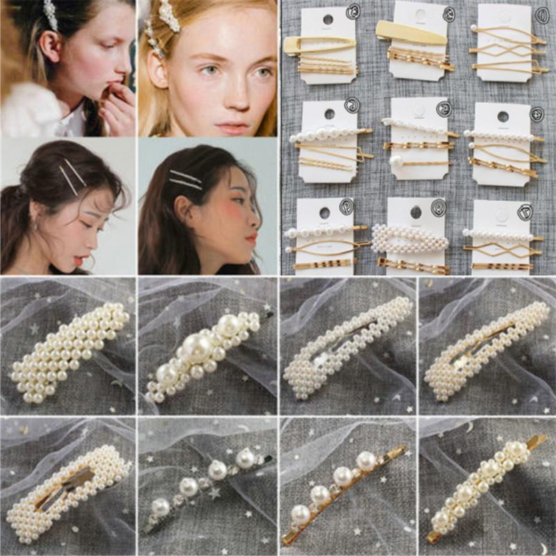 1-5PC Pin Barrette Hairpin
