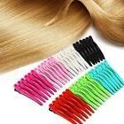 6PCS Colorful Plastic Salon Prong Alligator Teeth Bows Haird