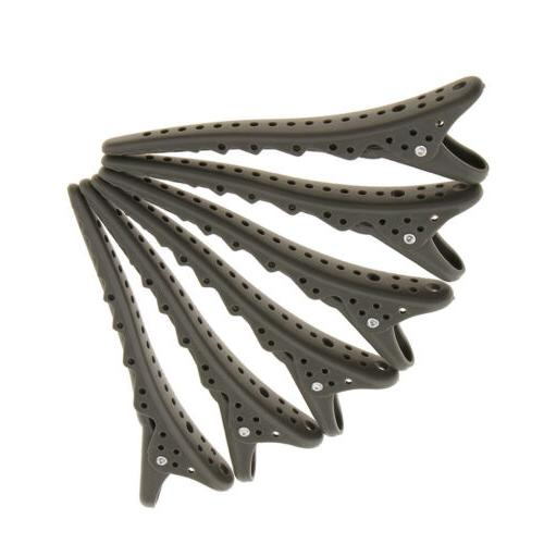 6pcs professional hair care clip hairdressing hairpin