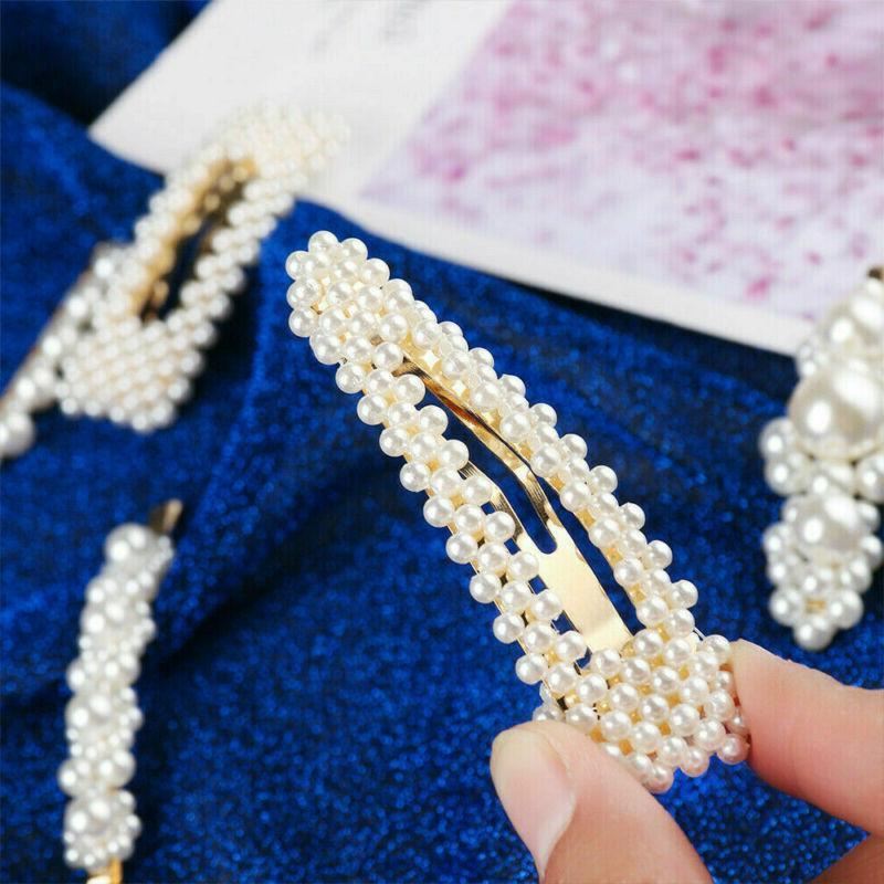 2019 Fashion 6Pcs/Set Pearl Hair Clip